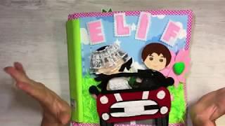 Elif' in harika bebek evi, dollhouse, aktivite kitabı