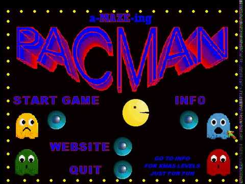 GJ AMAZEing Pacman - Full Game