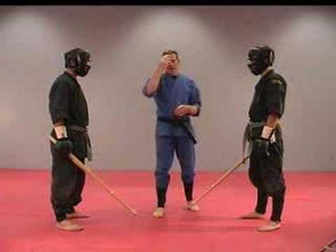 Rick Tew Ninja Training Sword Combat Game Martial Art and Ninja Camp California