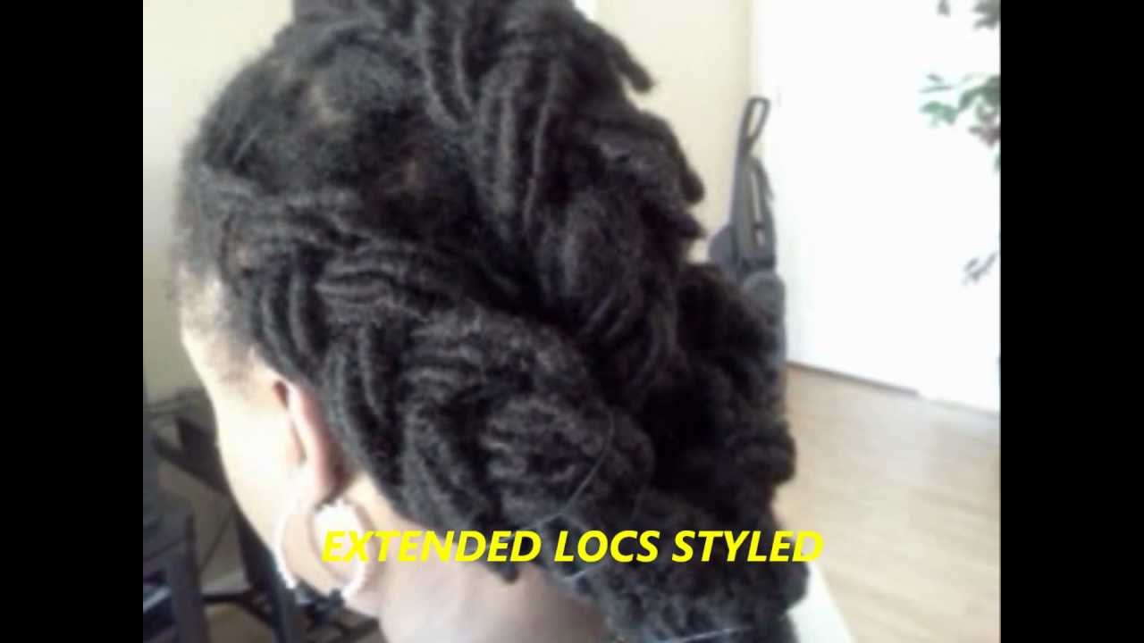 Human Hair Dread Extensions By Tite Braids Youtube
