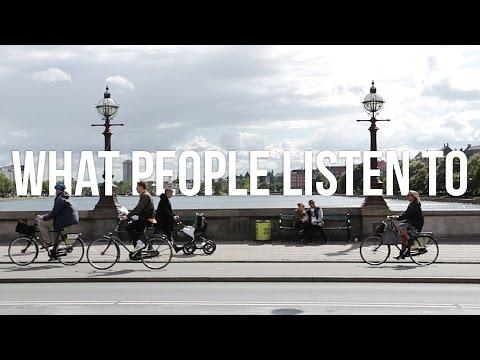 What people listen to in Copenhagen