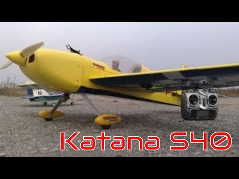 RC Plane Katana S40 onboard video