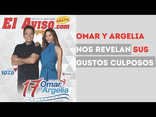 Omar y Argelia celebran 17 años al aire con El Aviso Magazine