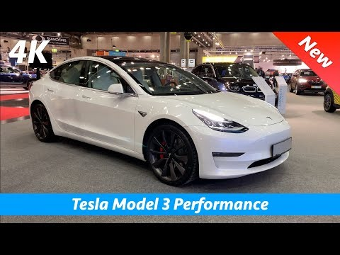 Tesla Model 3 Performance 2020 (EU) - FIRST In-depth look in 4K | White Premium Interior - Exterior