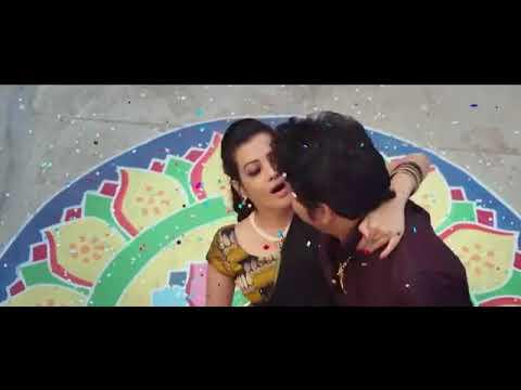 Deeksha Panth Hot Romantic  Navel Scene with nagarjuna Hd Expsive