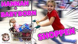 BABY BORN SHOPPING 🛒 7-Jährige Puppenmama geht einkaufen 🛒 PO-ALARM bei Johanna