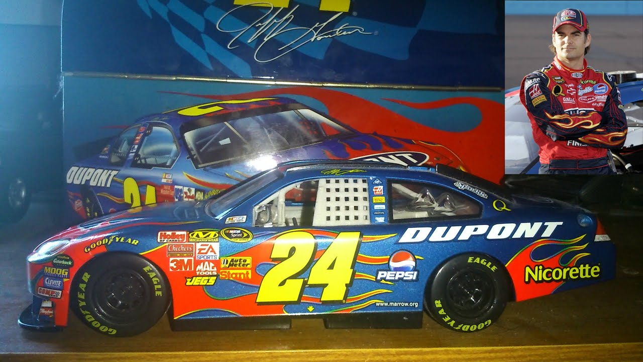 Jeff Gordon 24 Dupont Chevrolet Nascar Race Car