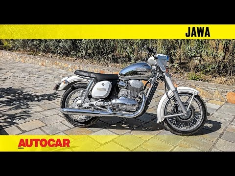 New 2018 Jawa | First Look And Walkaround | Autocar India