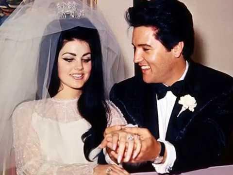 """Elvis e Priscilla - """"Words"""" do Pat Boone"""