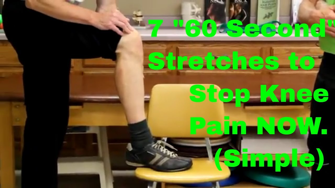Berg katherine physical therapy - 7 60 Second Stretches To Stop Knee Pain Now Simple To Do