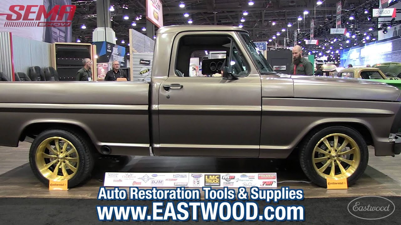 Perfect 1970 Ford F100 Pickup Truck with Eastwood Metal Blackening ...