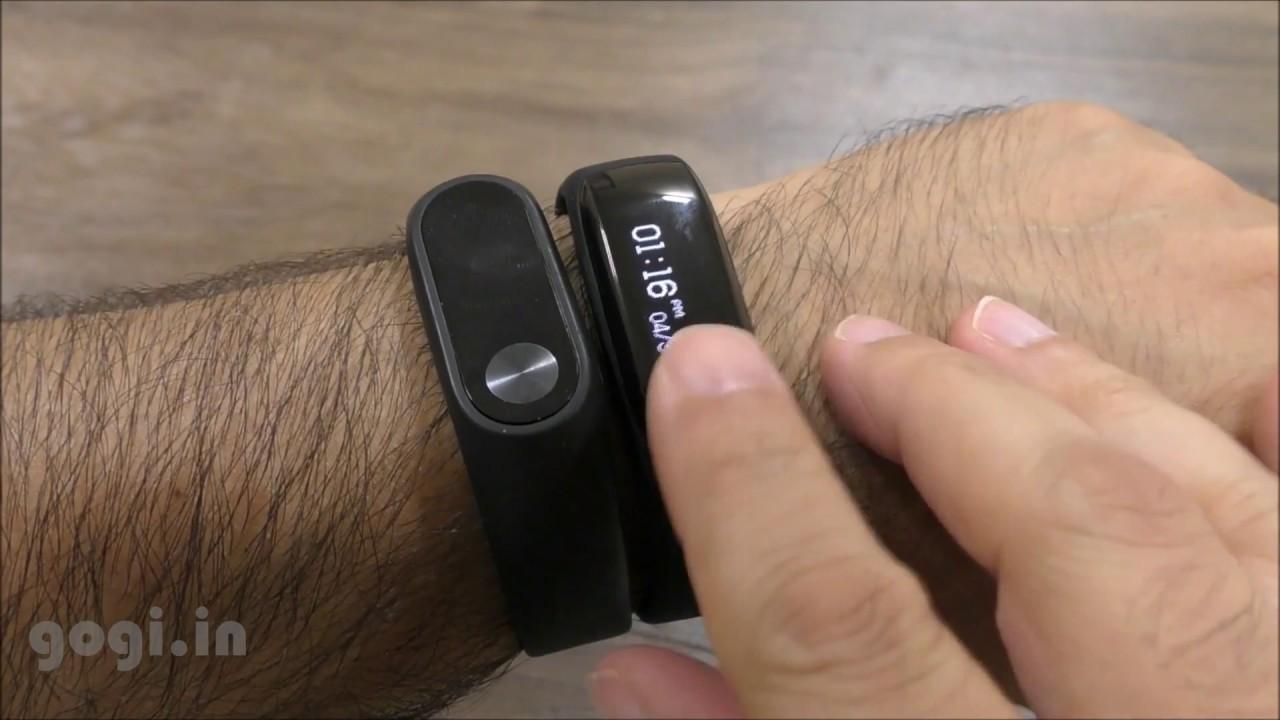 Xiaomi Mi Band 2 Vs Lenovo Hw01 M2 Bluetooth Smart Bracelet Look Heart Rate Monitor Wristband Fitness Tracker