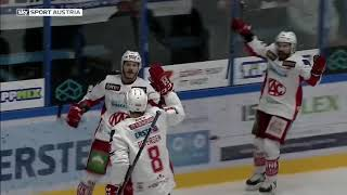 Erste Bank Eishockey Liga, 2. Pick Round: Fehervar AV19 vs. EC-KAC 1:4 (0:1, 0:0, 1:3)