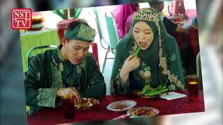 Korean bride gets a taste of 'budu' at traditional Kelantanese wedding