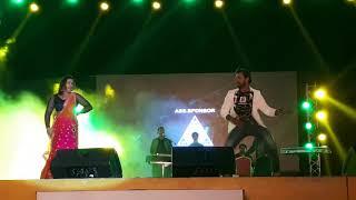 Kheshari Lal Yadav with Kajal Raghwani song MARAD ABHI BACHA BA 29th Dec 2017 Doha Qatar Show