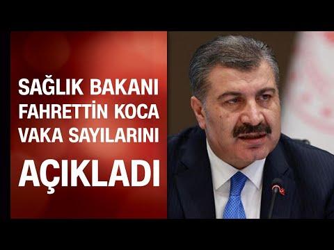 Sağlık Bakanı Fahrettin Koca son 24 saatin koronavirüs vaka sayısını açıkladı / 02.08.2020