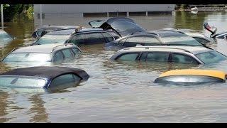 Потоп на Югоке. Украина. г.Кривой Рог(вот такая лужа после дождей, частенько была на ЮГОКе 3 июля 2010., 2016-04-27T13:04:17.000Z)