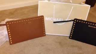 """Quick glance of my Michael Kors Studded Selma Clutches"" Thumbnail"