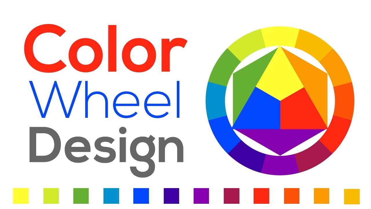 Color Wheel Design Adobe Illustrator Youtube
