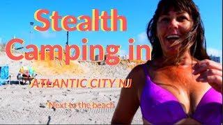 Stealth Camping in Atlantic City NJ