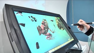 Dissecting 3D frogs? Mobile classroom impresses at Andrew Jackson