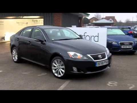 Used Fords USED LEXUS IS DIESEL SALOON (2008) 220D SE-I 4DR [2009 ...
