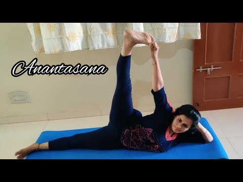 Anantasana ( Sleeping Vishnu Pose ) | Yoga Love