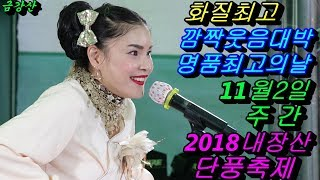 💗버드리 최고 멋진 촬영💗 11월2일 주간 2018 내장산 단풍축제 초청 공연