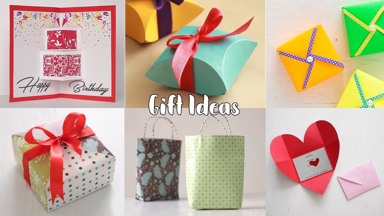 4 Easy Gift Ideas | DIY Gift Wrapping Ideas | Gift Ideas