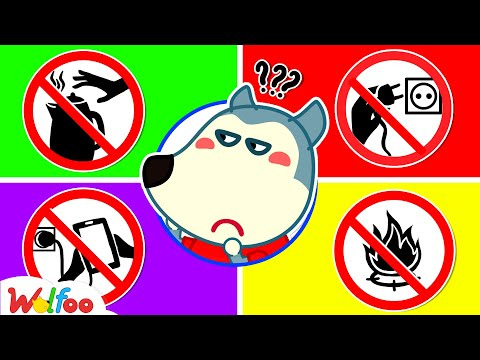 Wolfoo!!! Watch Out for Dangers of Electricity - Safety Rules for Kids   Wolfoo Family Kids Cartoon