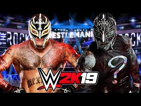 WWE 2K19 | REY MYSTERIO vs ZOMBIE REY MYSTERIO
