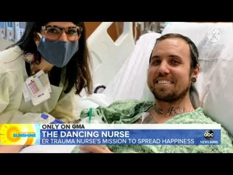 Unreal - Dancing Nurse Do Dancing to Dying Patients Of Covid