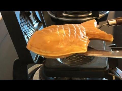 Taiyaki 紅豆鯛魚焼 ~ 自制红豆馅