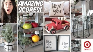 TARGET DOLLAR SPOT HAUL 2019 NEW FARMHOUSE DECOR AND VALENTINES DAY