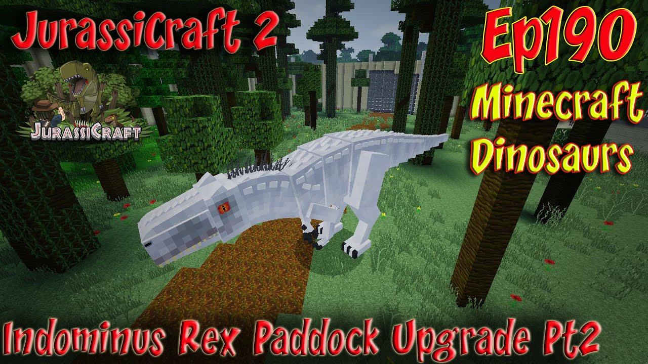 Jurassicraft 2 0 Jurassic World Ep190 Indominus Rex