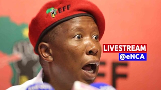 Malema holds briefing ahead of parly debate