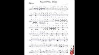 Lagu Tematik - Rayuan Pulau Kelapa - Kelas 5