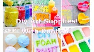 Diy Art Supplies/Kool aid ||Diystar198