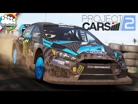 PROJECT CARS 2 - Ford Focus RS RX @ Daytona Rallycross- Let's Play Project CARS 2