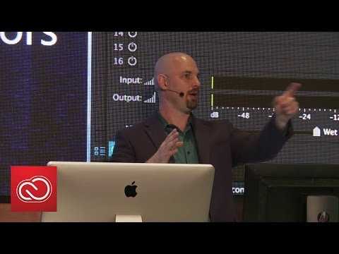 NAB Show 2016: Adobe Audition - Tips & Tricks For Experienced Editors | Adobe Creative Cloud