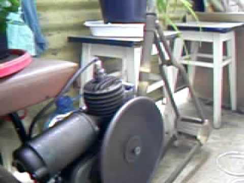 EVANS - Bike Engine 1915 - 24, Silnik Rowerowy Evans, Hilfsmotor Evans