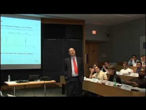 Ses 2: Present Value Relations I
