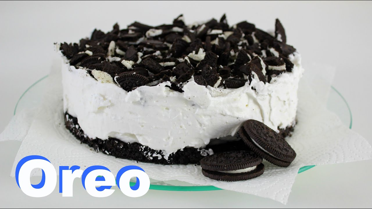 Oreo Torte Ohne Backen Veganes Rezept Youtube