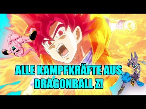 Alle Kampfkräfte aus Dragonball Z!