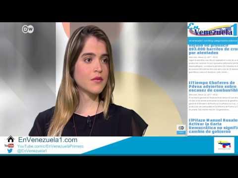 Entrevista a Antonieta Ledezma y Leonardo Jaimes por DW del #22Marzo2017 con Yoani Sánchez