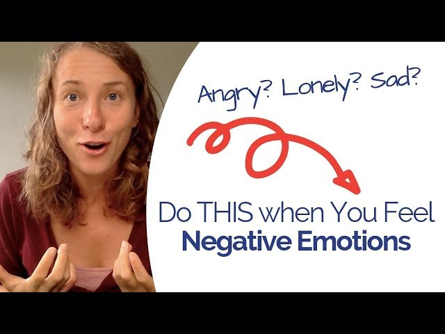 How to Deal with Negative Emotions - A Very Personal Story for the World Mental Health Day 2019