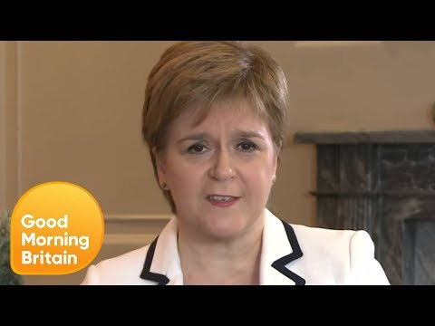 Nicola Sturgeon MSP Confident Scotland Would Be Welcomed to EU With Open Arms | Good Morning Britain