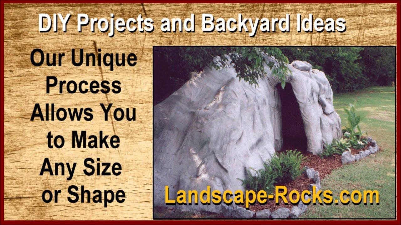 diy projects cool rocks backyard ideas youtube