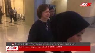 Zeti & Bekas Peguam Negara Hadir Di RCI Forex BNM