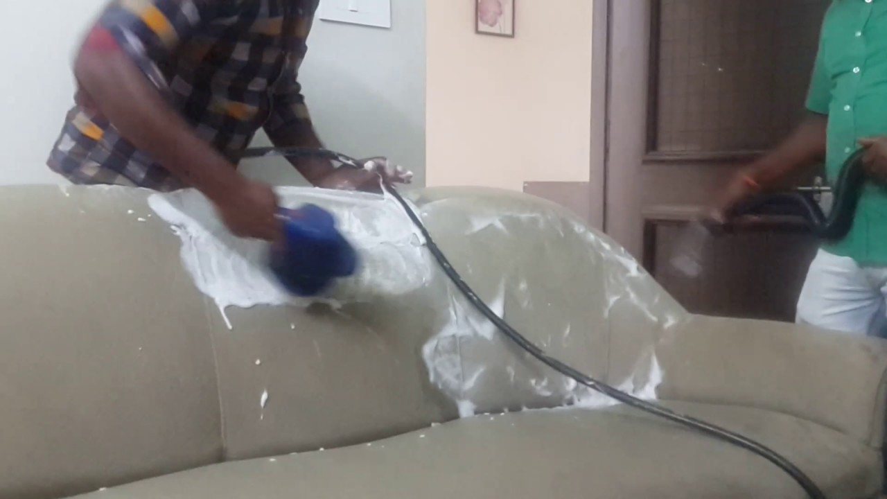 Sofa Cleaning Services In Chennai Modern Minimalis 2018 Shampoo Youtube